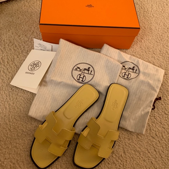 Hermes Shoes - Hermes oran sandals